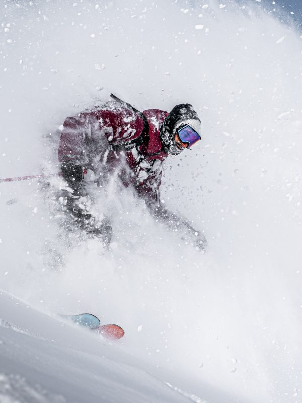 Freeride Skifahren