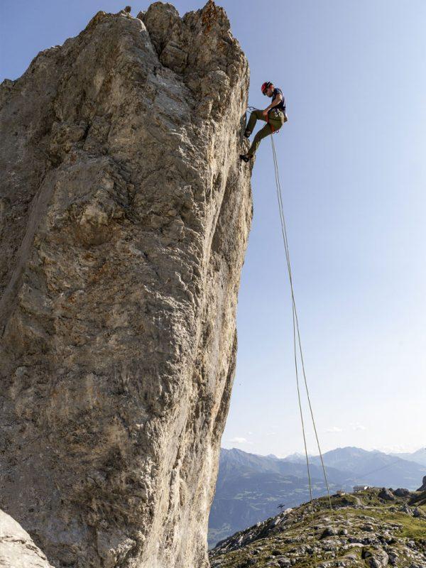 Klettern am Segnesboden